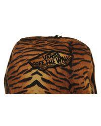 Vans Multicolor Realm Backpack Tiger Print for men