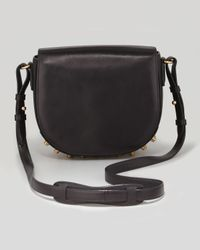 Alexander Wang Lia Small Leather Crossbody Bag Black