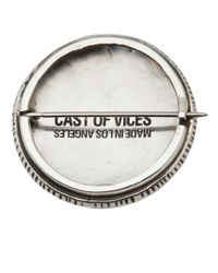 Cast Of Vices - Metallic Modern Drugs Badge for Men - Lyst