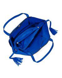 Michael Kors - Blue Large Ashbury Grab Bag - Lyst