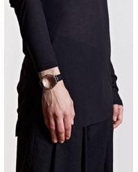 Ann Demeulemeester - Black Mens Loupe Bracelet for Men - Lyst