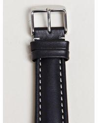 Ann Demeulemeester Black Mens Loupe Bracelet for men