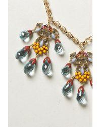 Anthropologie | Metallic Talisman Necklace | Lyst