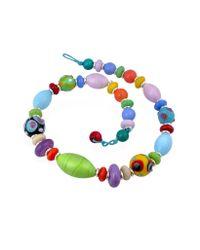 Antica Murrina | Ipanema - Multicolor Murano Glass Bead Necklace | Lyst