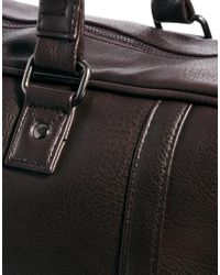 French Connection Brown Holdall for men