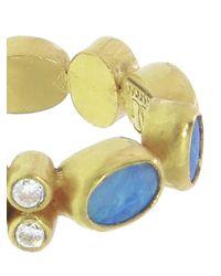 Gurhan | Metallic Opal Band Ring | Lyst
