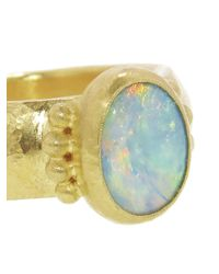 Gurhan   Metallic Oval Opal Ring   Lyst