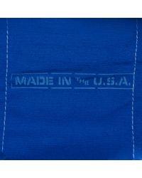 J.Crew Blue Steele Canvas Basket Co For Jcrew Colorblock Coal Bag