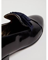 Lanvin Black Womens Loafer Shoe