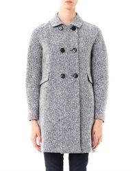 'S Max Mara Blue Onesti Coat