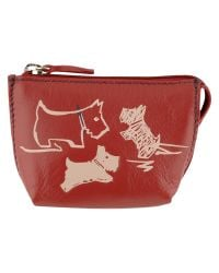 Radley Red Doodle Dog Small Coin Purse