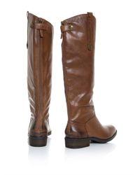 Sam Edelman - Brown Penny Knee High Boots - Lyst
