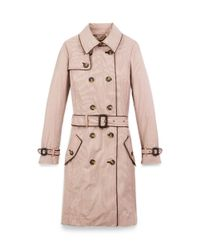Tory Burch Pink Adele Trench