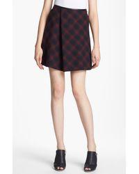 3.1 Phillip Lim | Flared Plaid Skirt | Lyst