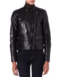 Belstaff Black Sidney Leather Jacket