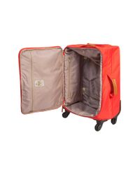 Bric's Red Xtravel Nylon Carry On Trolley