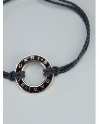 BVLGARI | Black Charm Bracelet for Men | Lyst