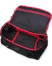 Delsey Black Crosstrip Cabin Duffel Bag for men