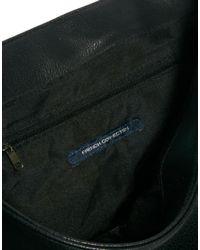 French Connection Blue Messenger Bag for men