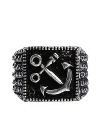 Pringle of Scotland - Metallic Hyde Anchor Ring for Men - Lyst