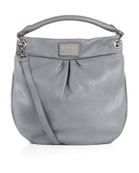 Marc By Marc Jacobs Gray Classic Q Hillier Hobo Bag