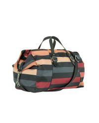Sonia Rykiel | Black Shine Multicolor Weekender Duffle Bag | Lyst