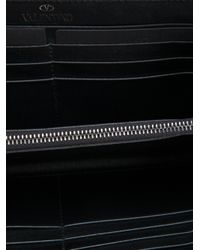 Valentino Black Rockstud Wallet