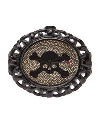 Vivienne Westwood Black Pimlico Ring
