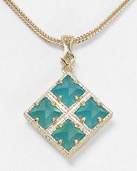 Kendra Scott - Blue Irene Pendant Necklace 16 - Lyst
