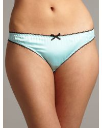 Therapy Blue Cherish Satin Bikini