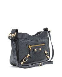 Balenciaga Black Giant Hip Shoulder Bag