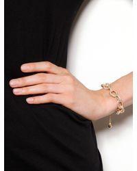 BaubleBar - Metallic Mini Pavé Links Bracelet - Lyst