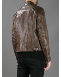 Belstaff Brown Beckland Leather Jacket for men