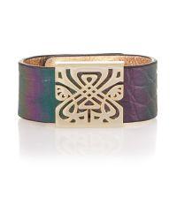 Biba | Multicolor Leather Wrist Cuff | Lyst