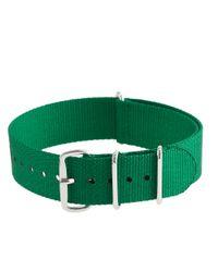 J.Crew Green Solid Watch Strap