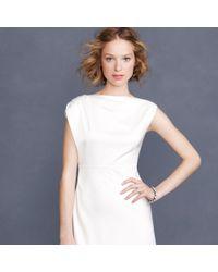 J.Crew White Carina Gown