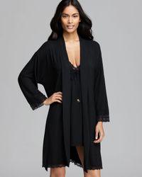 Juicy Couture Black Essential Sleep Robe