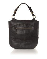 Linea Weekend Black Martha Hobo Bag