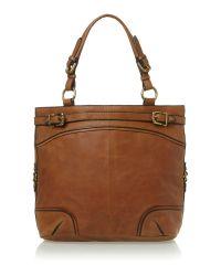 Linea Weekend Brown Martha Tote Bag