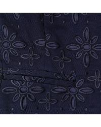 L.K.Bennett Blue Crop Jacket