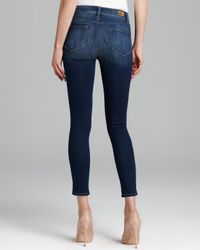 PAIGE Blue Jeans Hoxton Ankle in Lightyear