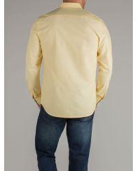 Racing Green Yellow Boscombe Shirt for men