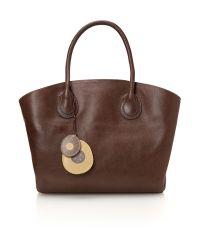 Radley Brown Overton Grey Large Tote Bag