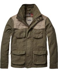 Tommy Hilfiger Green Chuck Casual Jacket for men