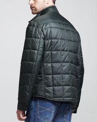 Brunello Cucinelli Black Thermal Milano Shirt Jacket Green for men