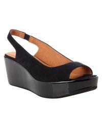 Hobbs Black Ellen Sandals