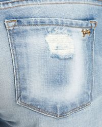 Juicy Couture Blue Jeans Slouchy Skinny