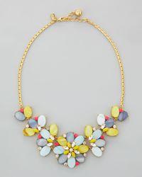 kate spade new york | Multicolor Bungalow Bouquet Short Necklace | Lyst