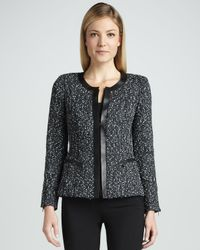 Lafayette 148 New York | Black Menon Tweed 3-Button Jacket | Lyst
