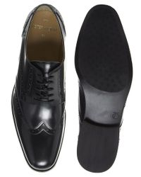 Lipsy - Black Peter Werth Battishill Leather Brogues - Lyst